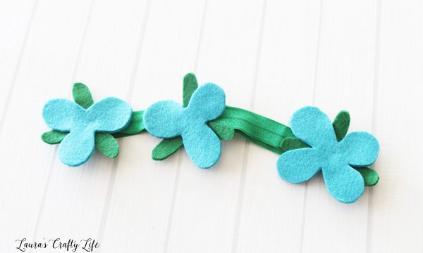 No Sew Trolls Poppy Headband Tutorial
