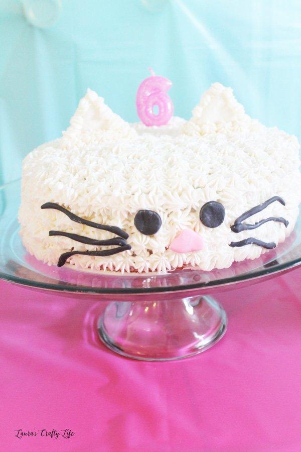 Kitten Birthday Cake