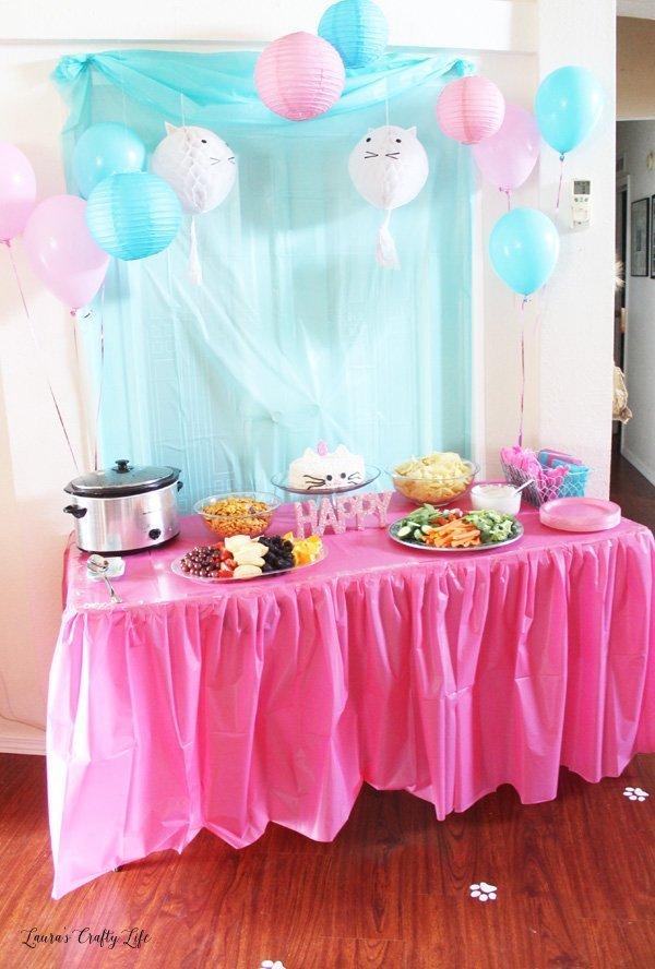 Kitten Birthday Party Decorations