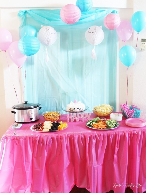 Kitten Birthday Party