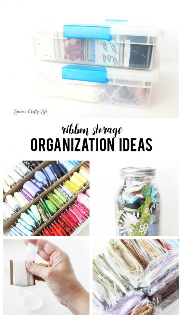 Ribbon Storage Organization Ideas