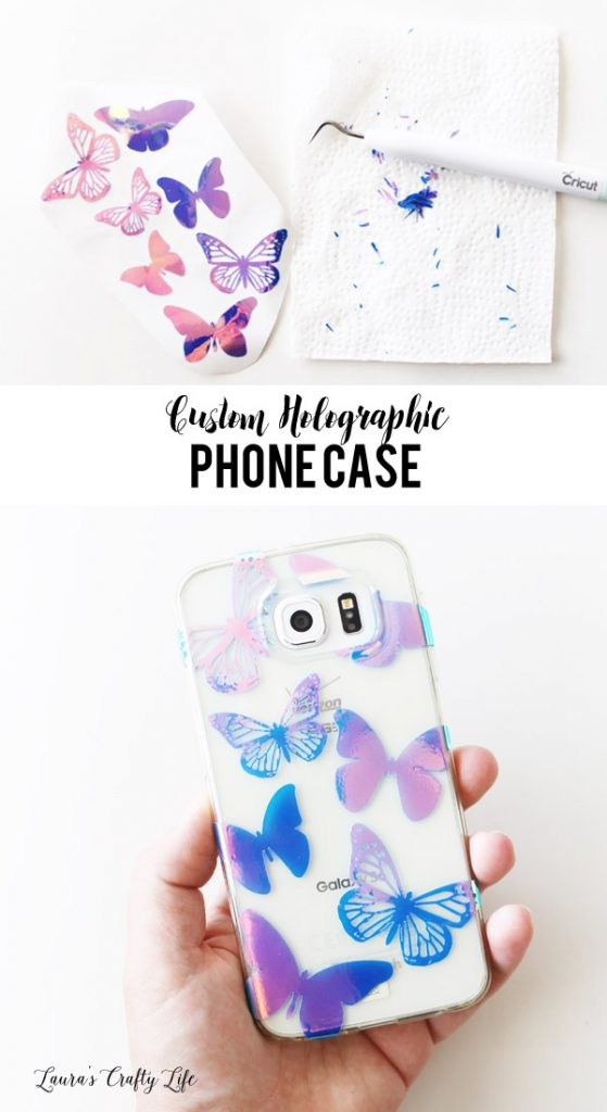 Create a custom holographic phone case with your Cricut Explore
