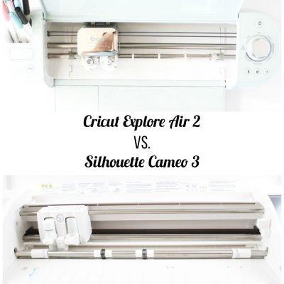 Cricut Explore Air 2 vs. Silhouette Cameo 3
