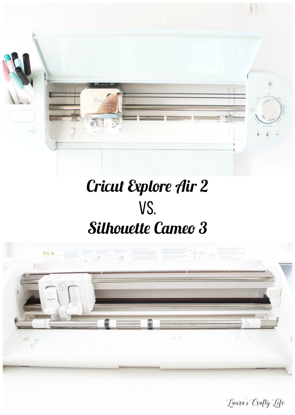 Cricut Explore Air 2 vs. Silhouette Cameo 3