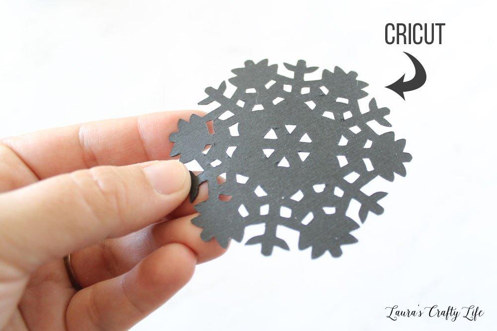 Cricut intricate cut results - backside
