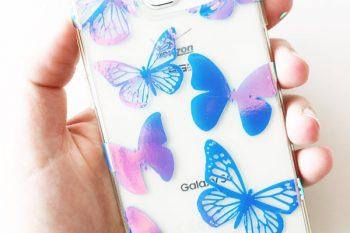 Custom Holographic Phone Case with Cricut
