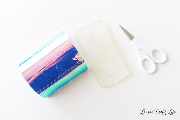 Cut holographic vinyl using Cricut Explore