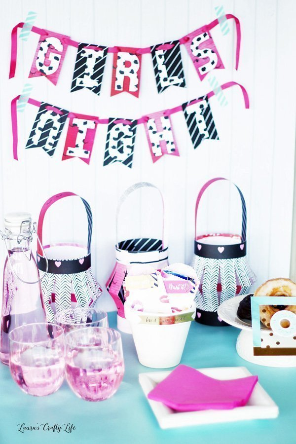 Girls Night Party Decor DIY