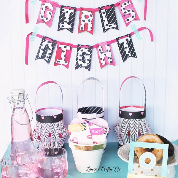 Girls Night Party Decor - Urban Chic We R Memory Keepers