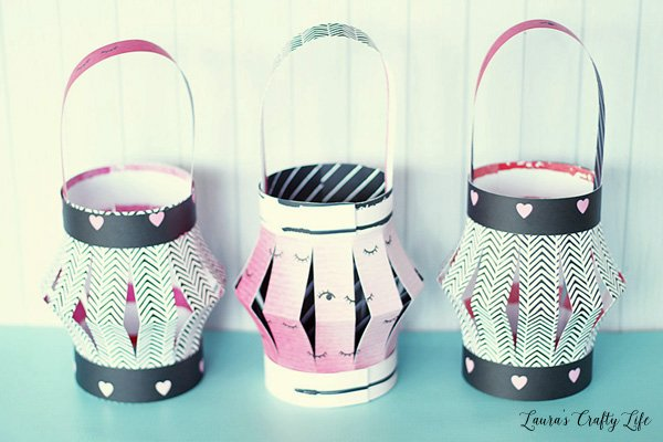 Girls Night party decor - paper lanterns