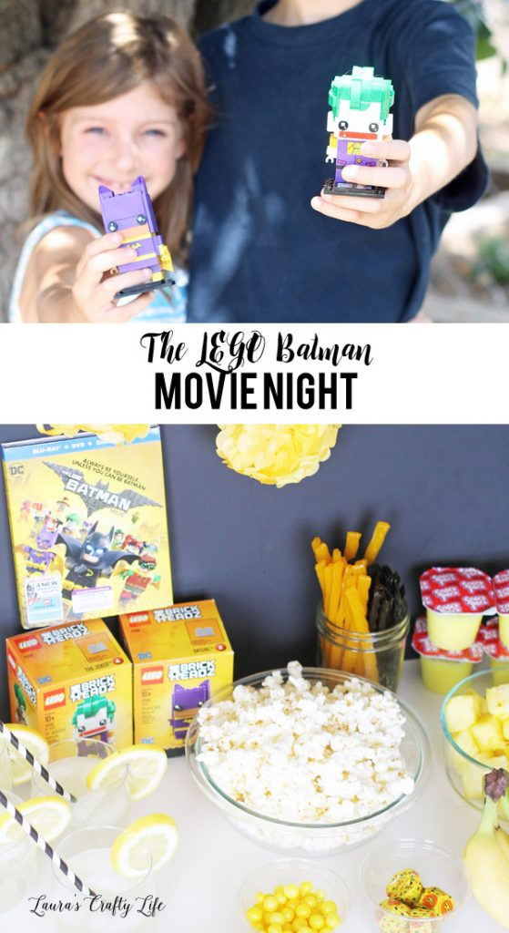 Plan a fun LEGO Batman movie night for the whole family