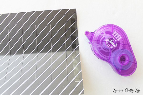 Use adhesive to assemble lantern