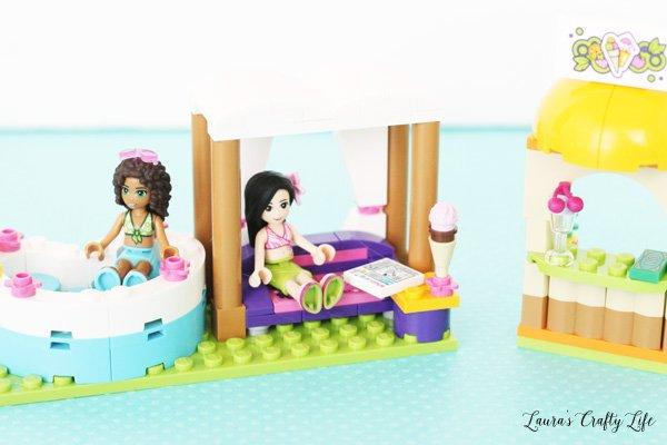 LEGO Friends Heartlake Summer Pool hot tub