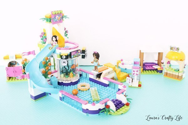Summer Fun With Lego Friends Heartlake Summer Pool Laura S Crafty Life