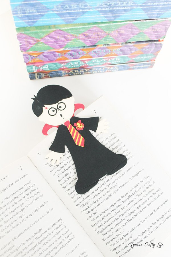Paper Pieced Harry Potter Bookmark