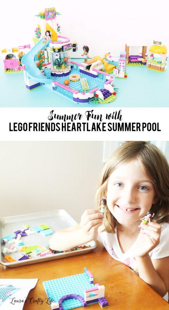 Summer Fun with LEGO Friends Heartlake Summer Pool #ad #LEGO