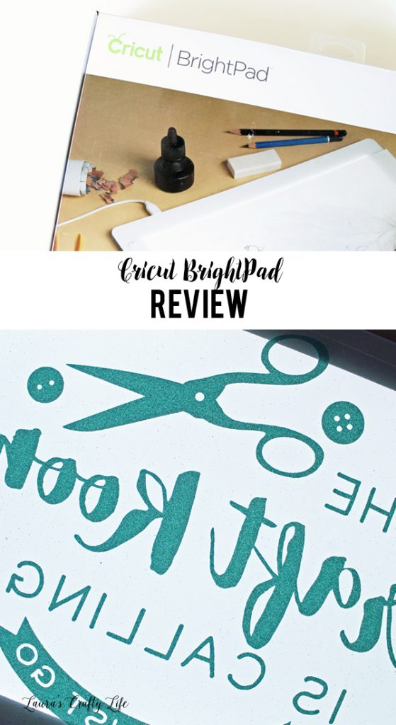 Cricut BrightPad Review and uses