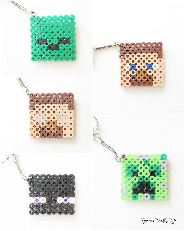 perler beads minecraft creeper head