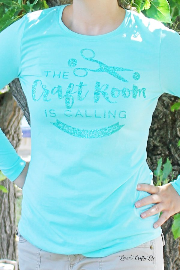 The Craft Room is Calling and I must go t-shirt