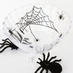 Spooky Halloween Spider Serving Bowl