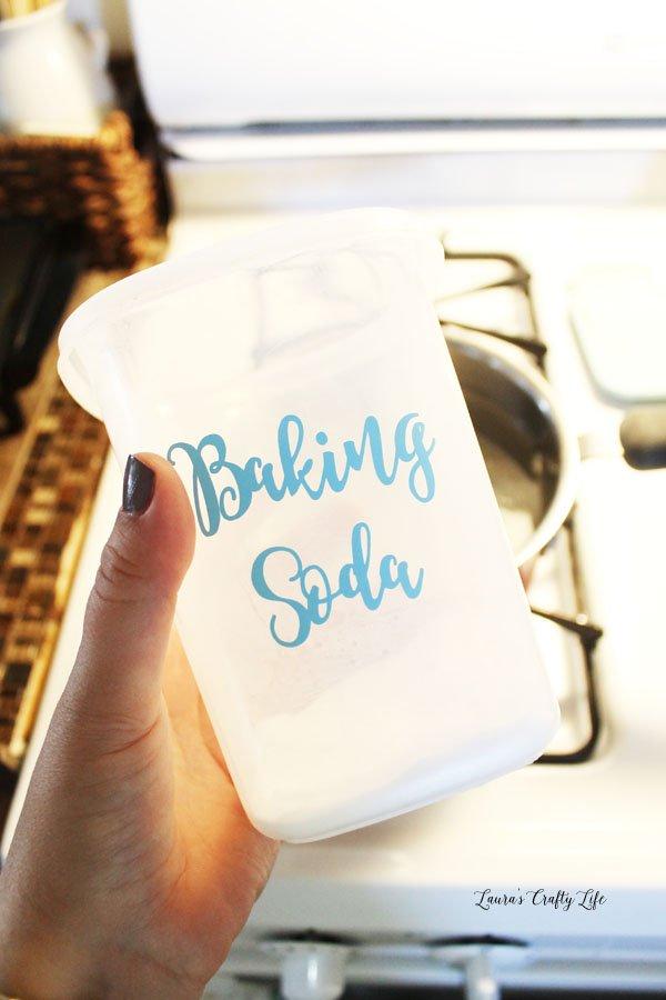 Baking soda in the water helps to make eggs easier to peel
