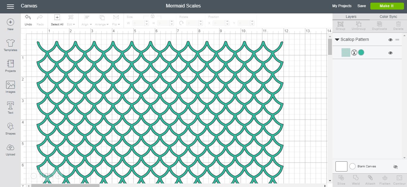 Cricut Mermaid Scales