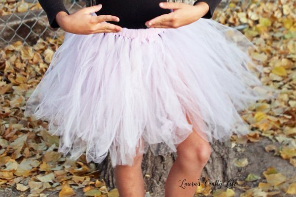 How To Make A Tulle Tutu Skirt Laura S Crafty Life