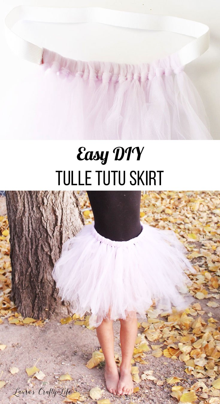 Easy Diy Tulle Tutu Skirt