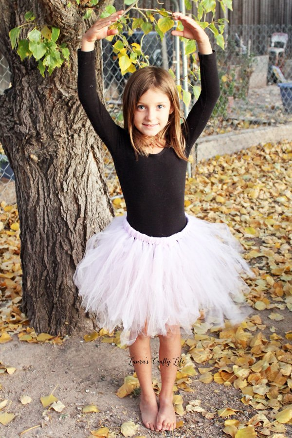 Easy Tulle Tutu Skirt