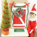 Elf on the Shelf Door - perfect way to welcome your elf back