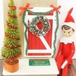 Elf on the Shelf Door - perfect way to welcome your elf back