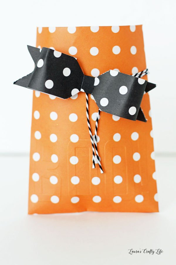 Halloween Treat Bag Envelope