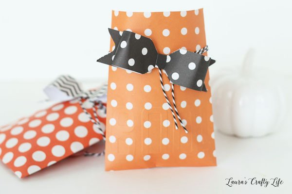 Halloween paper treat envelopes