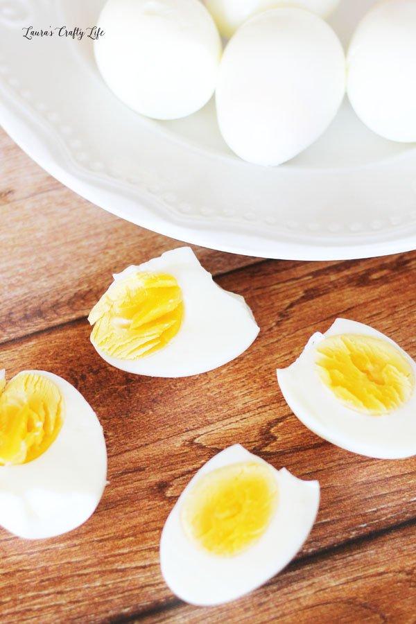 How to easily peel fresh hard boiled eggs