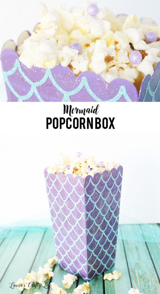 Mermaid Popcorn Box Party - Halloween Popcorn Box Party 2017