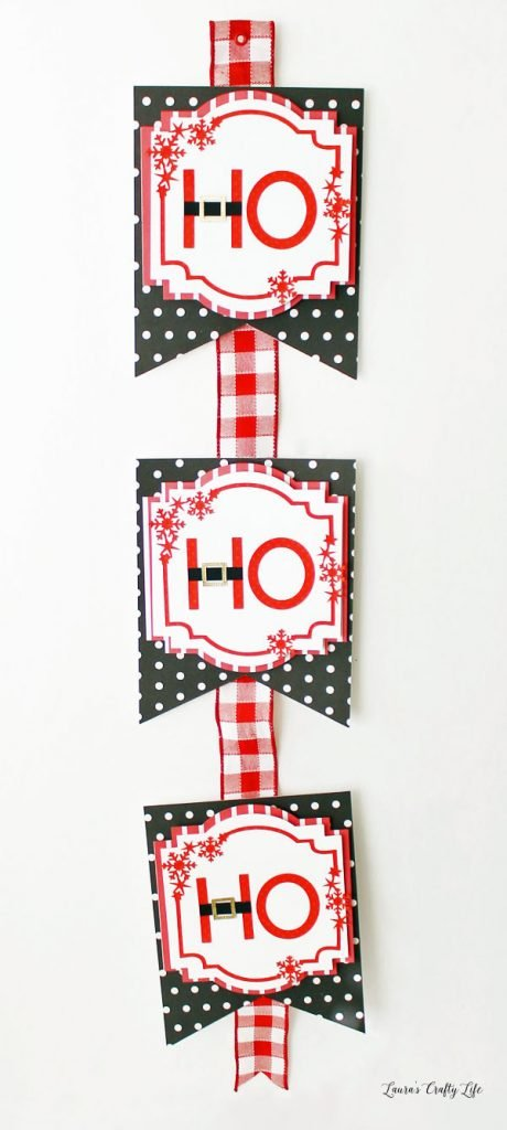 Santa Wall Hanging DIY