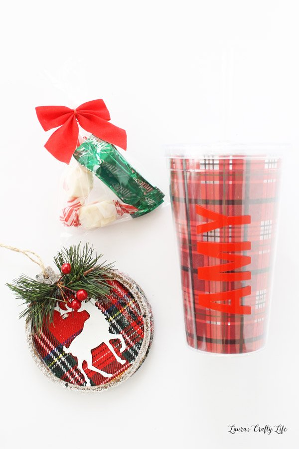 Buffalo Plaid Cookie Exchange favors