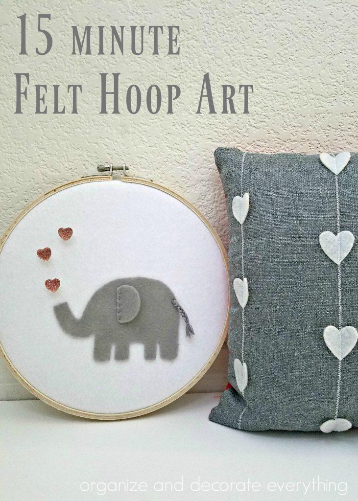 Elephant Hoop Art
