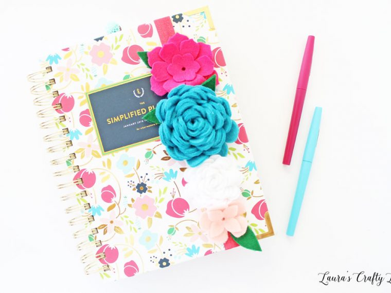 Felt Floral Planner Band Tutorial