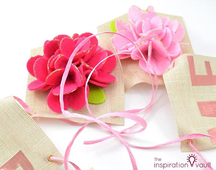 Sparkling Floral Springtime Banner
