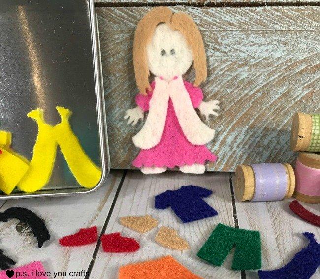 Felt Dolls Cricut Maker
