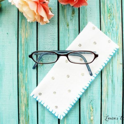 Easy Felt Eyeglass Case