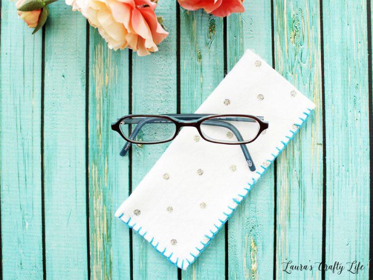 Easy Felt Eyeglass Case