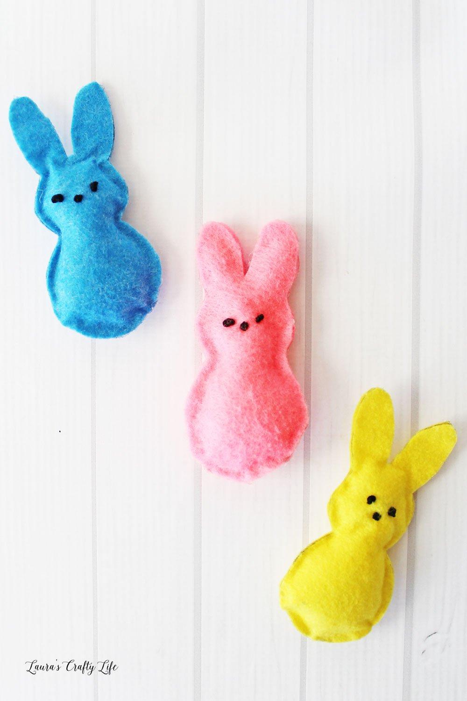 Felt PEEPS® Bunny Tutorail