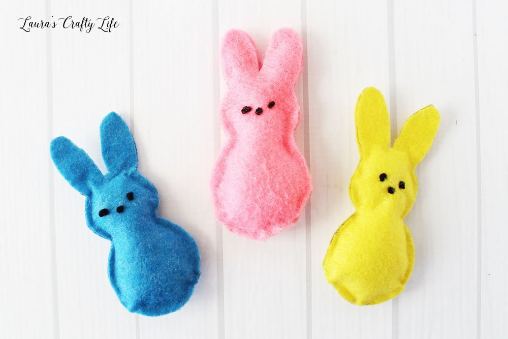 Felt PEEPS® Bunny Plush Tutorial