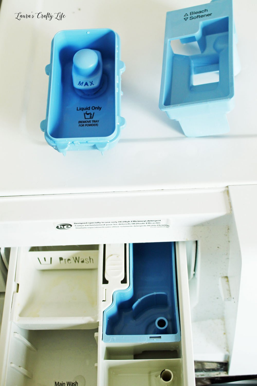 Remove detergent dispensers