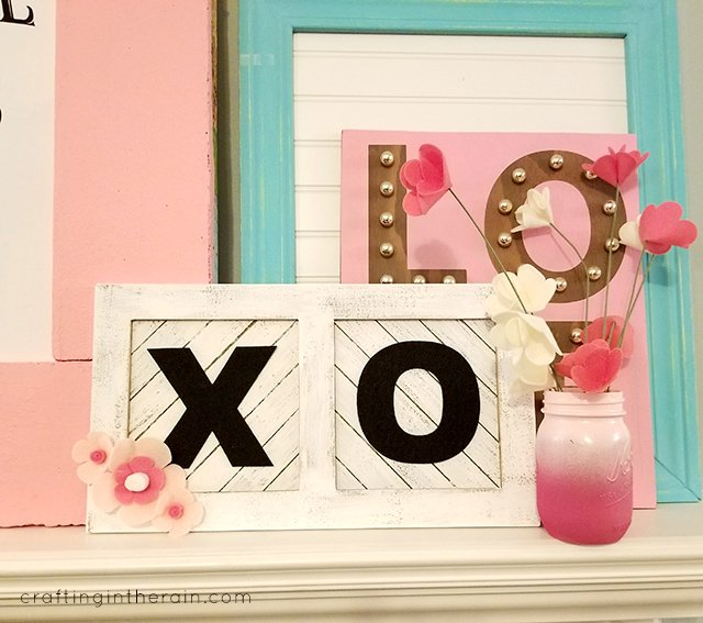 XO Valentine Sign