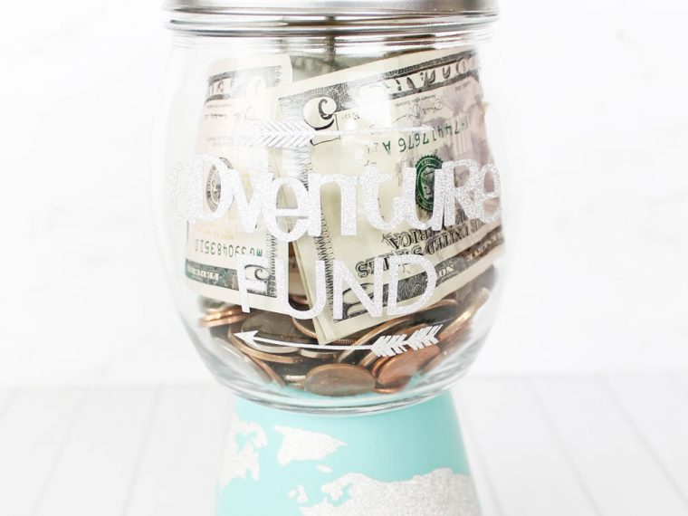 Adventure Fund Savings Jar