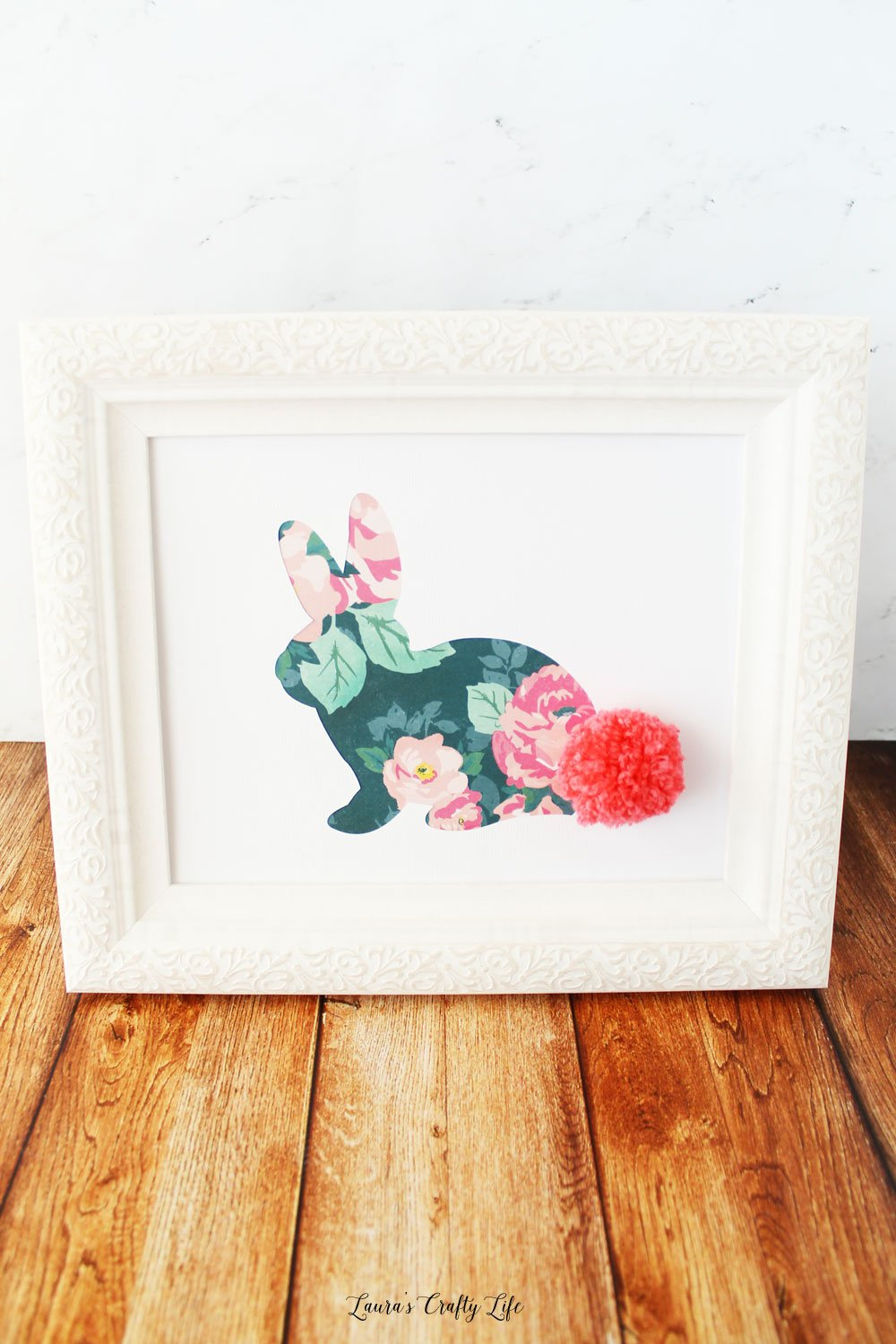 Bunny Wall Art for Easter