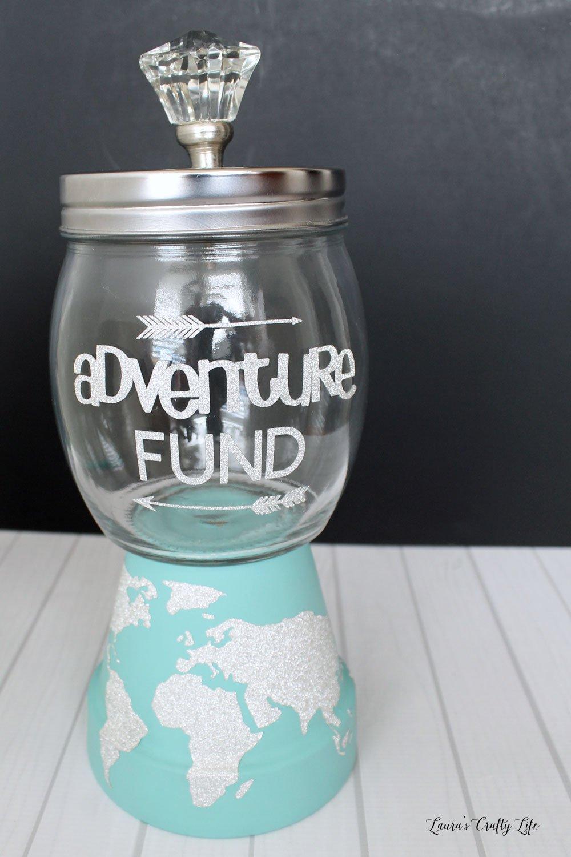 Clay Pot Savings Jar